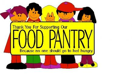 REVISED FOOD PANTRY DONATIONS