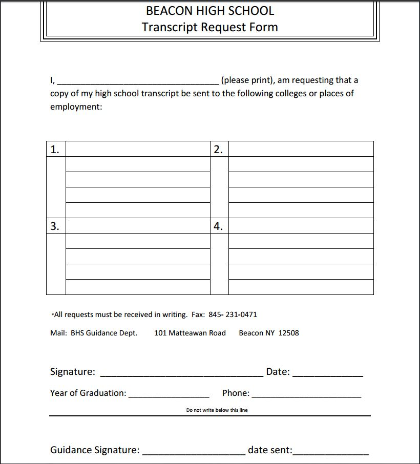 Transcript Request Form.Jpg